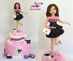 fashion  cake  - Cake by sharon tzairi - cakes-mania