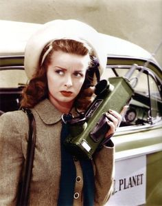 Noel Neill from the first Superman serial