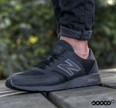 Stoer en comfortabel tegelijk, deze New Balance sneakers voor heren!