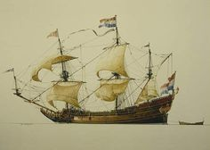 Dutch merchant ship Batavia.