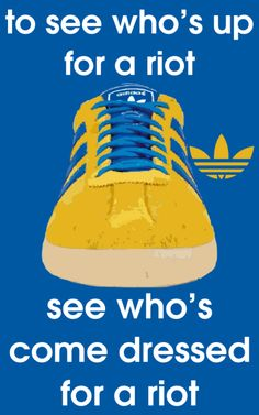 Adidas - Made for standing, not running!