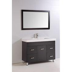 Legion Furniture 48 Single Bathroom Vanity Set With Mirror