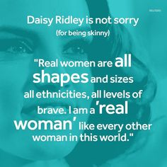 """Daisy Ridley says she """"won't apologise"""" for her body shape. She's hit back at an Instagram post which claimed her character Rey created """"unrealistic expectations"""" for young women. #daisyridley #starwars #rey #feminism #body by bbcnewsbeat"""