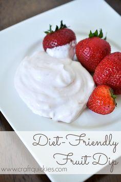 Diet-Friendly Fruit Dip