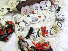 Pirate Party Parchment Party Banner Garland   by auntiesjammies, $28.00
