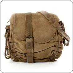 "AUNTS & UNCLES German Leather Design. Bag ""The Plush Sofa"" Candy Jar Sand"