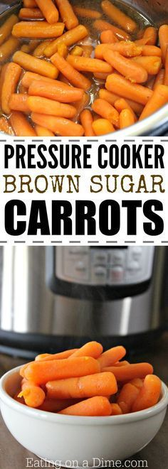 Brown Sugar Carrots Pressure Cooker Looking for a sweet carrots recipe? Try this Brown Sugar Carrots pressure cooker recipe. This simple pressure cooker carrots recipe tastes great. It is our favorite kid friendly glazed carrots recipe. Brown Sugar Carrots, Glazed Carrots, Pressure Cooking Recipes, Slow Cooker Recipes, Carrot Recipes, Healthy Recipes, Healthy Cooking, Carrot Ideas, Easy Recipes