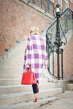 zara plaid statement