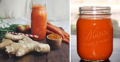 The Ultimate Turmeric Ginger Carrot Juice To Replace Your Pain And Inflammation Medications