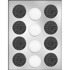 1 3 4 inch Sandwich Cookies Chocolate Candy Mold 90 13325 | eBay