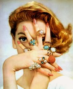 Jewelry 1952 — More is better.