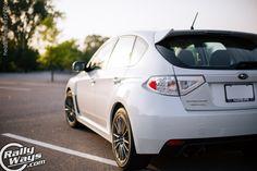 2013 Subaru WRX Hatchback Pearl White