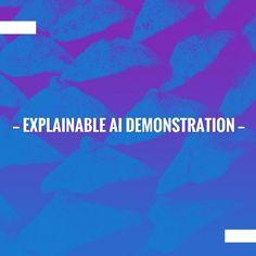 Take a peek into my blog here 👀 Explainable AI Demonstration http://optimizingmind.com/explainable-ai-demonstration/?utm_campaign=crowdfire&utm_content=crowdfire&utm_medium=social&utm_source=pinterest