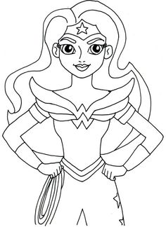 Coloring Pages Kids : Print And Color Wonder Woman. Wonder Woman Coloring Pages. Coloring Pages. Halloween Coloring Pages. Free Halloween Coloring Pages.
