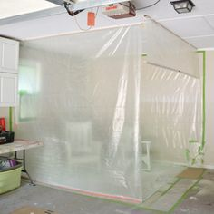 Diy garage paint booth pinterest garage paint diy garage and diy garage paint booth solutioingenieria Choice Image