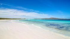 Whitehaven Beach in the Whitsunday Islands, Australia