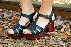 Kickin' It Up Sandals in Black $34.99 #SouthernFriedChics