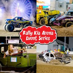 The A.V. Fair & Alfalfa Festival's Rally Kia Arena Events will be Aug. 25 – 28!  Tickets go on sale June 2nd! For more information go to avfair.com!