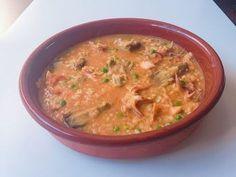 Arroz meloso de sepia con Monsieur Cuisine - YouTube