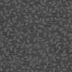 Mayfair - Leaf Texture - Charcoal Gray
