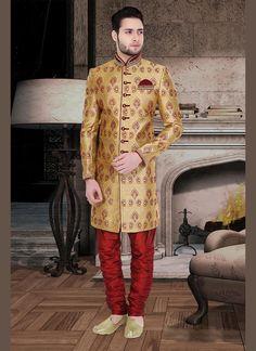 Mens Designer Indian Wedding Ethnic Indostyle Sherwani Readymade Bollywood Dress #KriyaCreation