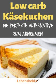Low carb cheesecake with base - quick and easy - life .- Low carb Käsekuchen mit Boden – Schnell und einfach – Lebensheld You have to know this recipe for a delicious low carb cheesecake! Healthy Low Carb Dinners, Low Carb Dinner Recipes, Low Carb Desserts, Healthy Weight, Baking Recipes, Snack Recipes, Dessert Recipes, Snacks, Diet Recipes