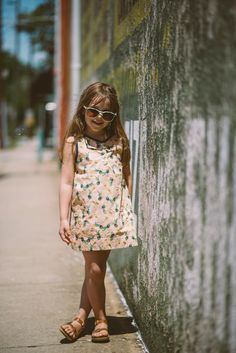 60s style dresses for your 6-year-old. We agree.  #totspotapp #totspotkids #kidsfashion