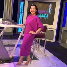 """Ms Kris Aquino #aquinoandabundatonight  #aquinoandabundalive #031215"" My Idol, Ms, Sari, Classy, Celebrities, How To Wear, Instagram, Dresses, Fashion"
