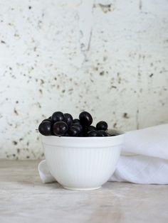 Large Handmade Ceramic Serving Bowl - Gray, White, Aqua Green, Matte Black Or Light Blue by 1220 Ceramics Studio on Gourmly