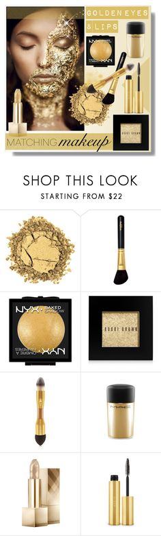 """""""Matching makeup"""" by bogira ❤ liked on Polyvore featuring Belleza, Sisley, NYX, Bobbi Brown Cosmetics, tarte, MAC Cosmetics, Burberry, AERIN, BeautyTrend y Beauty"""