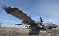 Fotos: USAF testa winglets nos aviões MC-130J