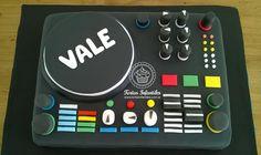 Torta de una consola para DJ