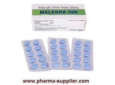 Malegra (Sildenafil Citrate 200mg Tablets) - BuildersGhar | pharma supplier | Scoop.it