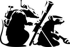 BANKSY TERRORATS por mrbishop
