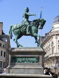 Jeanne d'Arc place du Martroi