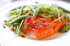 Sweet+Chili-Glazed+Salmon+with+Snap+Pea+Salad+by+Pink+Parsley.+,+and+I+was+giddy+as+I+carried+it+from+the+mailbox+into+my+house.+It+just+looked+so+fresh+and+delicious+and+springy.+And+well,+its+pretty+obvious+that+I've+become+obsessed+with+springy+recipes.+As+a+matter+of+fact,+the+entire+issue+is+chock+full+of+recipes+that+I+can't+wait+to+try.