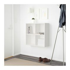 EKET Cabinet with 4 compartments - white - IKEA