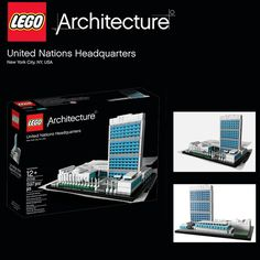 The LEGO Architecture United Nations Headquarters is the third release in the LEGO Architecture series of 2013.