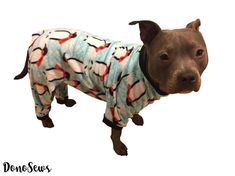 Hey, I found this really awesome Etsy listing at https://www.etsy.com/listing/487194906/fleece-dog-pajamas-dog-pjs-dog-jammies