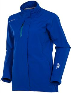 SUNICE Sierra Zephal Waterproof Stretch Jacket Intense Blue | #Golf4Her