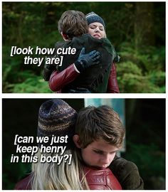 not going to lie-i really wanted pan to be stuck in Henry's body so we could keep robbie kay.