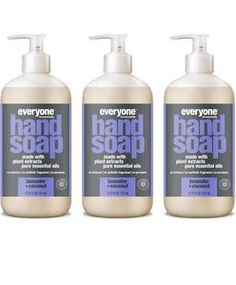Everyone Hand Soap, Lavender + Coconut, Ounces, 3 Count: Beauty Essential Oils For Face, Orange Essential Oil, Essential Oil Blends, Organic Aloe Vera, Organic Plants, Organic Oil, Liquid Hand Soap, Hand Lotion, Hand Soaps
