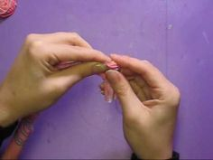 Fabric Flower Rosettes