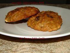 Sugarless Banana oat raisin cookie - use Nutalex instead of butter of course. Sugarless Cookies, Banana Oats, Raisin Cookies, Healthy Kids, Vegan Recipes, Muffin, Vegetarian, Treats, Breakfast