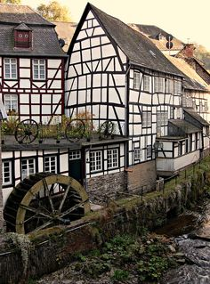 Monschau in der Eifel, Germany