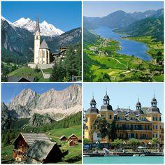 #Österreich #Velden #Steiermark #Heiligenblut www.eberhardt-travel.de/reise/at-wore7