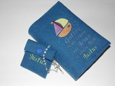 Weiteres - Set GotteslobHülle   Rosenkranztäschchen Wollfilz  - ein Designerstück von Lisas-Filzdesign bei DaWanda