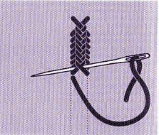 Comme leur nom l'indique, les points de croix sont formés de barres en croix. Ils sont utilisés : pour souligner des motifs faire des bordures remplir des surfaces. Le point de croix simple Il est très facile à réaliser. Le point de diable Il ressemble...