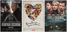 ¿Nos vamos al cine? Nuestros #estrenos de la semana: - Atrapada en la oscuridad - Barcelona nit d'estiu - Cruce de caminos