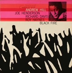 #Jazz_Album_Covers - Andrew Hill: Black Fire